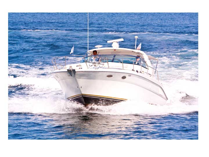 37-ft.-SeaRay-Sundancer-Power-Yacht-Up-to-10-People-front-view