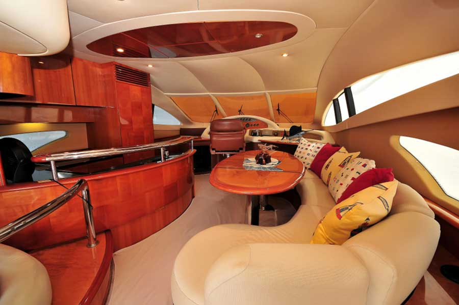 62-FT-Azimut-Luxury-Power-Yacht-Up-to-25-People-Salon-Dinette-Kitchen